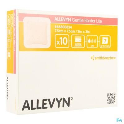 ALLEVYN GENTLE BORDER LITE 7,5X 7,5CM 10 66800834