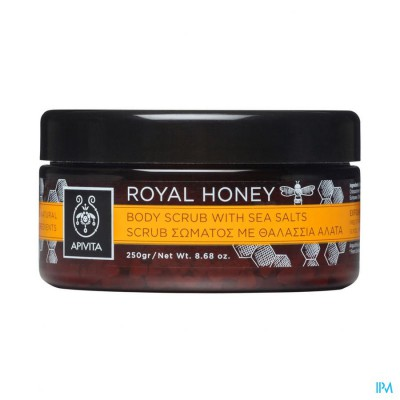 Apivita Scrub Royal Honey 200ml