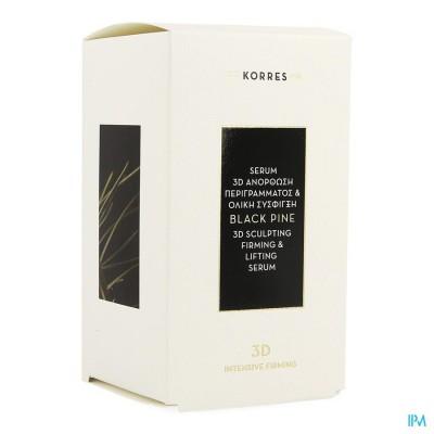 Korres Kf Black Pine 3d Serum 30ml