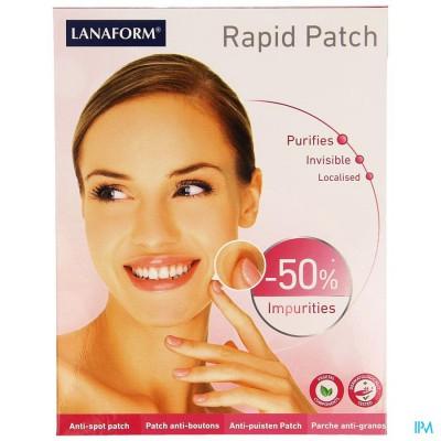 Lanaform Rapid Patch A/puist Rond Transp 90