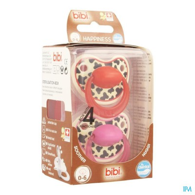 BIBI HAPPINESS FOPSPEEN DENTAL TIGER 0- 6M DUO