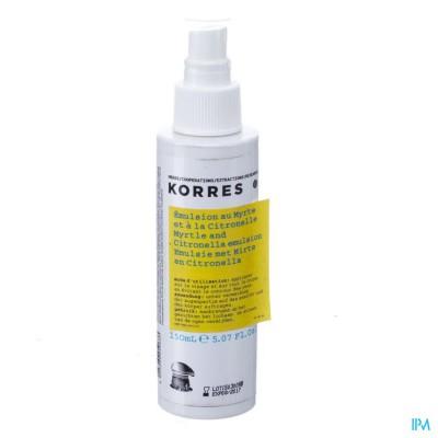 Korres Kp Myrtle&citronella Insect Repellent 150ml