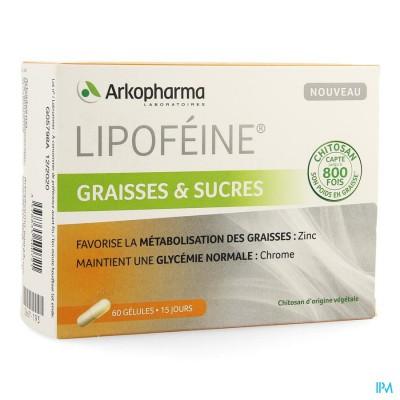 Lipofeine Vetten Suiker Caps 60