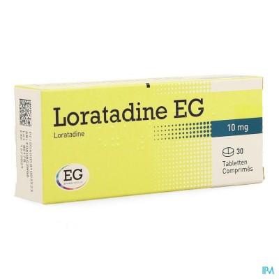 LORATADINE EG 10 MG TABL 30 X 10 MG