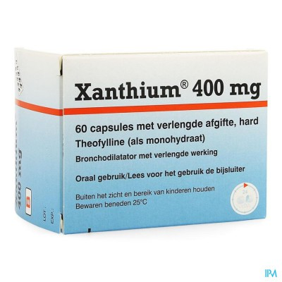 XANTHIUM 400 CAPS 60 X 400 MG