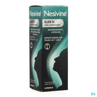 NESIVINE 0,05% SINE CONSERV NEUSSPRAY 10ML