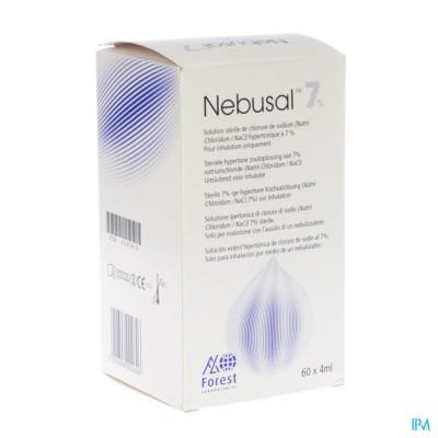 Nebusal 7% Nacl Amp 60x4ml
