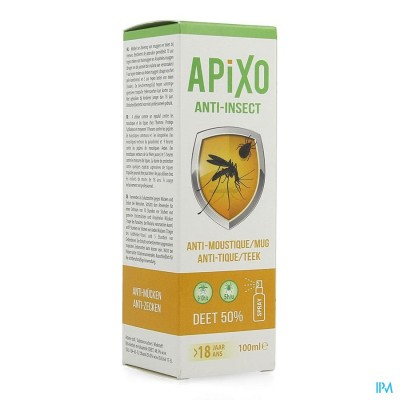 APIXO A/INSECT DEET 50% SPRAY 100ML