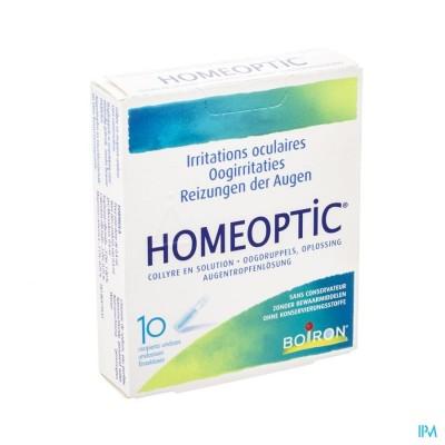 HOMEOPTIC UNIDOSISSEN 10 X 0,4ML BOIRON