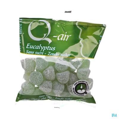 Q-air Eucalyptus Zonder Suiker Gom 85g