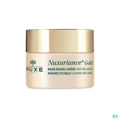 NUXE NUXURIANCE GOLD BAUME REGARD LUMIERE 15ML