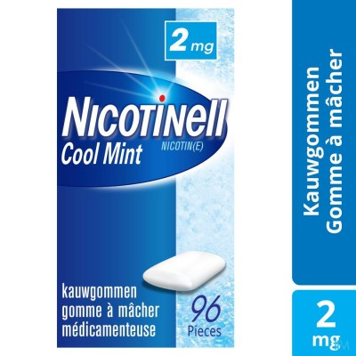 NICOTINELL COOL MINT 2 MG KAUWGOM 96