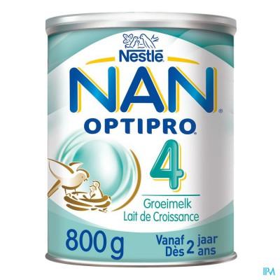NAN OPTIPRO 4 +2JAAR GROEIMELK PDR 800G