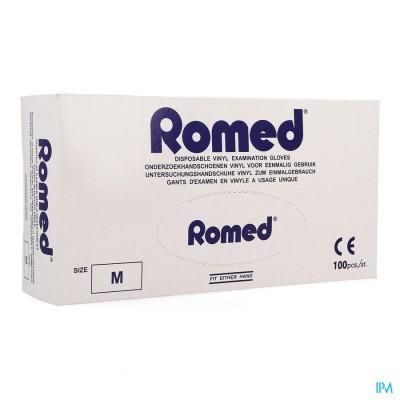 ROMED HANDSCHOEN VINYL WEGWERP M 100 PONTOS