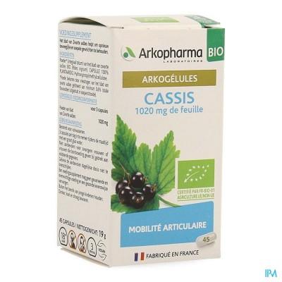Arkocaps Zwarte Aalbes Bio Caps 45 Nf