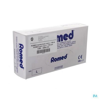 ROMED HANDSCHOEN VINYL WEGWERP L 100 PONTOS