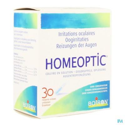 HOMEOPTIC UNIDOSISSEN 30 X 0,4ML BOIRON