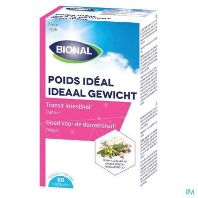 BIONAL IDEAAL GEWICHT CAPS 80