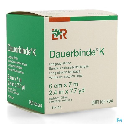 DAUERBINDE K 6CM X 7M 1 105904