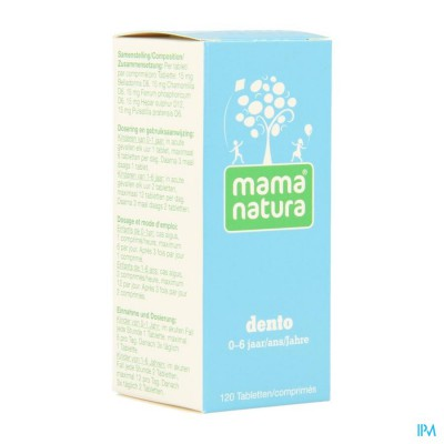 Mama natura dento 120 tabletjes