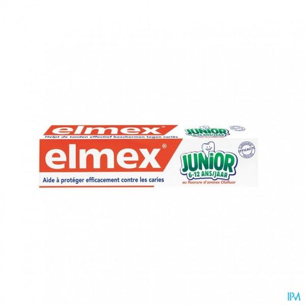 ELMEX JUNIOR TANDPASTA 6-12JAAR 75ML